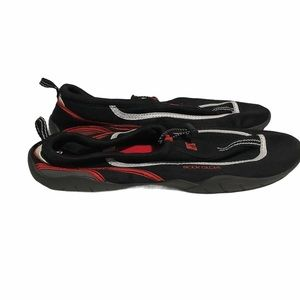 Body Glove Black Red Water Shoes Men's Size 12
